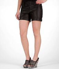 Shorts Daytrip Flat Front Short Size 9 Black Sheen  From the Buckle BKE NEW NWT