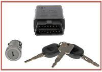 Replacement Ignition Lock Cylinder kit W. Transponder Key & Programming Tool
