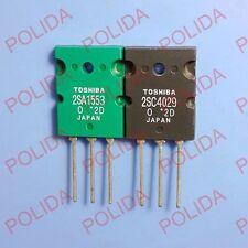 1PAIR OR 2PCS TOSHIBA TO-3PL 2SA1553-O/2SC4029-O 2SA1553/2SC4029 A1553/C4029