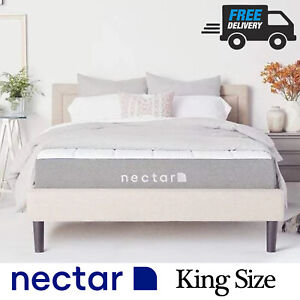 New King Size Nectar Memory Foam Mattress Bagged with FREE UK Wide Delivery 📦✅