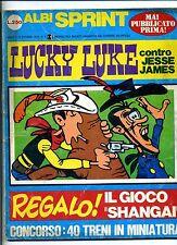 ALBI SPRINT # LUCKY LUKE # Anno I N.5 Ottobre 1970#Soc.Ed.Acc.Sempl.F.lli Crespi