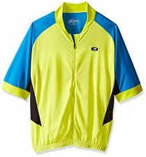 Sugoi Evolution Ice Jersey, Men's Size Large, Short Sleeve, Yellow/Blue, NEW