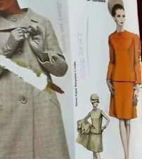 Ronald PATERSON LONDON Vogue Couturier 1666 Vintage Sewing Pattern COAT SkirtTOP