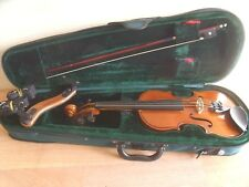 STENTOR STUDENT ST VIOLIN 1/4 SIZE + CASE & BOW SUPERB CONDITION IDEAL LEARNER