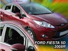2 Deflettori Aria Antiturbo Ford Fiesta MK6 2008-2017 5 porte