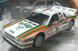 Coche LANCIA RALLY 037 Totip #18 - M.Biasion - Rally San Remo 1983  (Esc. 1/18)