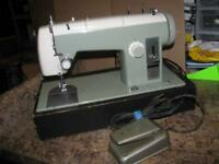 Vintage Sears Kenmore Sewing Machine Model 158.850 - As Is for Parts or Repair