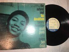 Lou Donaldson – The Natural Soul - Blue Note – BST 84108 - VG/G+ 1967