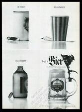 1963 Amstel Holland Beer mug photo vintage print ad