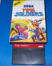 Time Soldiers Sega Master System w/Case