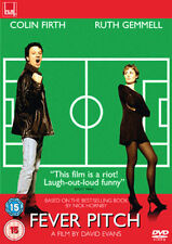 FEVER PITCH COLIN FIRTH RUTH GEMMELL MARK STRONG FILM4 UK REGION 2 DVD L NEW