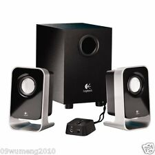 Logitech - LS21 2.1 Stereo Speaker System For PC MP3 DVD XBOX Subwoofer
