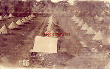 1910 TENT CITY - WISH YOU COULD BE HERE AND ENJOY THE TOURNAMENT - MILITARY