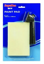 DIY PAINT PAD WITH HANDLE 6X4 IN BY SUPADEC NEW