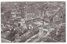 LONDON Aerial Postcard from Above Admiralty Arch Old Postcard Postally Used 1919