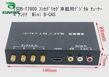 12V-24V Car Digital TV Receiver ISDB-T Full One Seg Mini B-cas With Four Turner