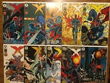 Dark Horse Comics 1994 X 1-10 Complete Grant Mahnke Palmiotti