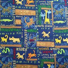 2 3/4 yards x WOF from Robert Kaufman Juvenile animal prints