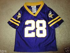 Adrian Peterson #28 Minnesota Vikings NFL Jersey Toddler 2T baby