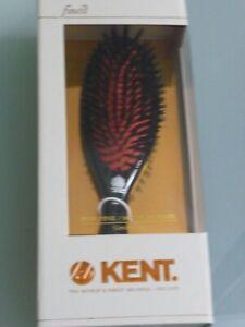 Kent Hairbrush CSFM Oval Cushion Boar Bristle Hair Brush - NEW