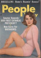 People Today October 1957 Sharlayne Ferraro Cheesecake Pin Up Digest 011719AME