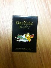 Garfield Christmas/Winter/Hoilday Pin on a snowmobile super cute. Vintage