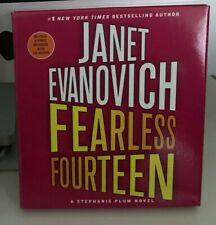 Janet Evanovich Fearless Fourteen CD Audiobook 7cds