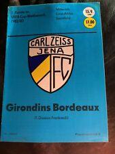 FC Kaiserslautern Programm 1996//97 1 Carl Zeiss Jena