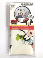 Disney Mickey Mouse & Friends 30 Peel & Stick Wall Decals - New in Box