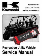 Kawasaki 2012 Teryx4 750 4x4 EPS LE Service Manual