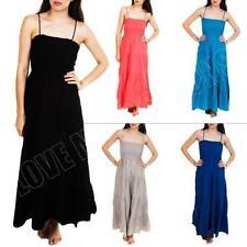 Unbranded Machine Washable Maxi 100% Cotton Dresses for Women