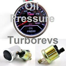 FORD FOCUS MONDEO FIESTA ST RS TDCI SMOKED PRESSURE GAUGE 52MM
