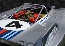 1971 Porsche 908/03 Prototype Sports Car Vintage Classic Race Car Photo CA-0933