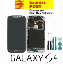Samsung GALAXY S4 4G i9505 Black LCD Touch Screen Digitizer Glass with Frame