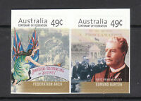 2001 Centenary of Federation  - Booklet Stamps