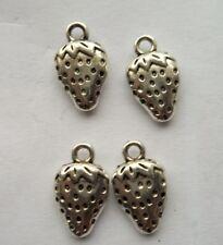 20 pcs Tibetan silver strawberry charm pendant  17x10 mm