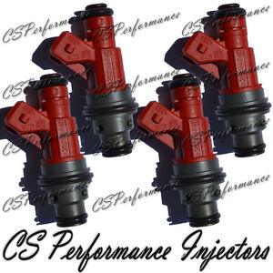 OEM Bosch Fuel Injectors Set for 99 Saab 9-3 2.3 I4 Turbocharged