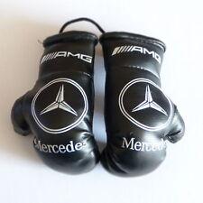 Mini Boxhandschuhe Mercedes-Benz AMG für Auto Innenspiegel Kunstleder Schwarz