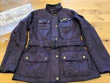 Barbour International Polarquilt Ladies Jacket - Purple - Size UK 10 RRP £178.95
