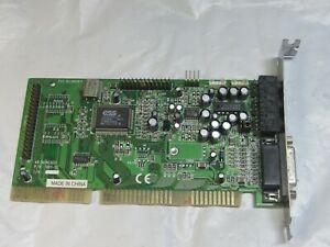 ESS Audiodrive S611-SC ISA Sound Card DOS/Win98