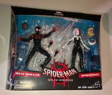 Marvel Legends Into the Spiderverse Target Exclusive 2-Pack MIles morales Gwen