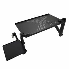Flexible Portable Laptop Small Desk Pc Notebook Bed Vented Stand Adjustable Tray