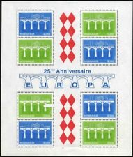 MONACO Bloc N°28** Cote : 28€, Monaco 1984 Sheet CEPT MNH