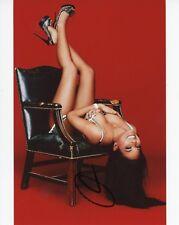 ~~ OLIVIA MUNN Authentic Hand-Signed SEXY 8x10 Photo (PSYLOCKE - X-MEN) D~~