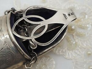 Sterling Silver Chatelaine Glasses Case
