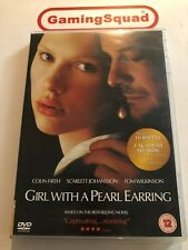 Girl with a Pearl Earring DVD, Supplied by Gaming Squad