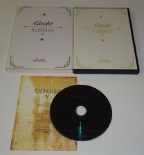 Gackt Platinum Box V  Bible (DVD) Japanese Anime