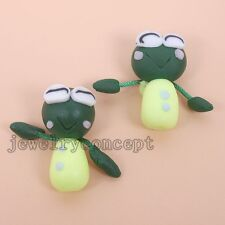 10x Funny FIMO Polymer Clay Doll Toy Accessories Fit DIY Jewelry Findings J