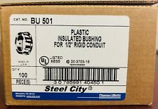Thomas&Betts BU 501- 1/2 Inch; Non-Metallic Insulated Bushing