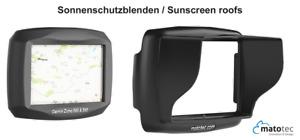 Garmin Zumo 595 LM Sonnenblende Visier Suncover Navi Displaysschutz Folie